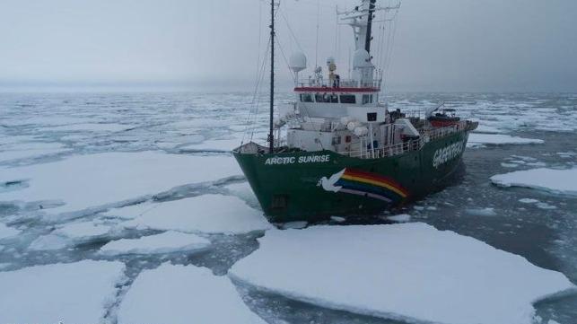 俄罗斯海运,荷兰达成绿色和平组织船舶