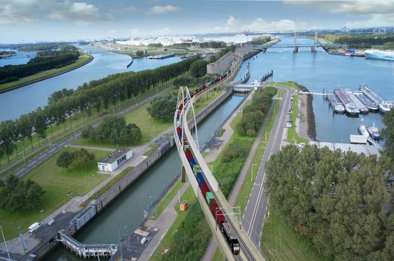 荷兰人仍在投资。 鹿特丹的开放式Caland桥梁旁路将于2021年开放