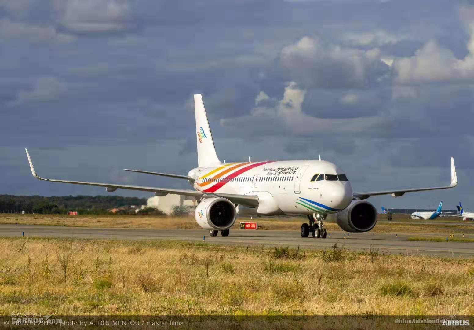 多彩贵州航空10月25日将引进首架A320NEO飞机