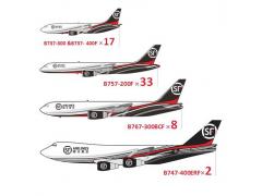 顺丰国际空运公司的货机机队达到60架